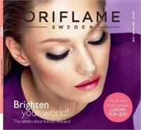 Oriflame Cosmetics make  Gillian  Mccabe